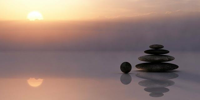 Balance - Steine